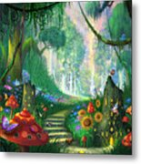 Hidden Treasure Metal Print