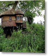 Hidden Treehouse Metal Print