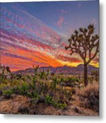 Hidden Valley Sunset Metal Print