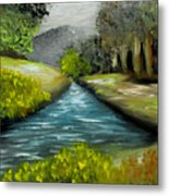 Hidden Waters Metal Print