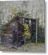 Hiding In The Forest Metal Print