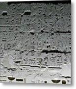 Hieroglyphics Metal Print