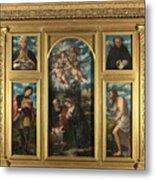 High Altarpiece S Alessandro Brescia Metal Print