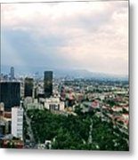 High Altitude Mexico Metal Print