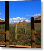 High Chaparral - Mountain View Metal Print