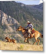 High Country Ride Metal Print