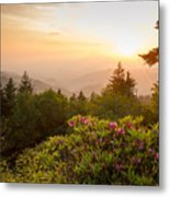 High Country Sunset Metal Print