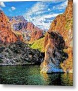 High Desert Lake Metal Print