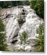 High Falls At Dupont Forest Metal Print