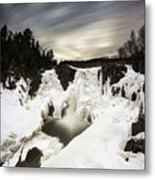 High Falls Long Expo 2017-03 Metal Print