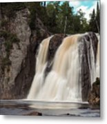 High Falls Of Tettegouche State Park 1 Metal Print