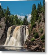 High Falls Of Tettegouche State Park 4 Metal Print