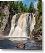 High Falls Of Tettegouche State Park2 Metal Print