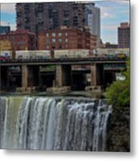 High Falls, Rochester  Metal Print