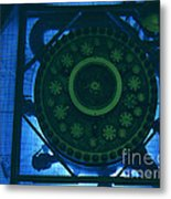 High Flux Isotope Reactor Pool Metal Print