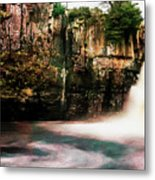 High Force With A Watercolour Effect. Metal Print