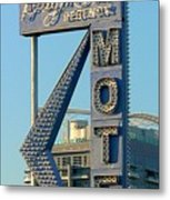 High Hat Motel Las Vegas Metal Print