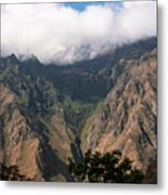 High In The Andes Metal Print