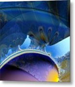 High In The Dirigible Metal Print