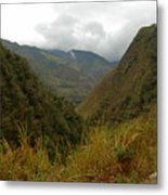 High In The Mountains Of The Intag Metal Print