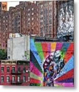 High Line Art Metal Print