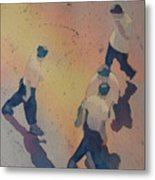 High Noon At The Gravel Spit I Metal Print