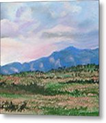 High Plains IIi Metal Print by Lucinda  Hansen
