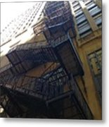 High Rise Escape Metal Print