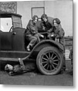 High School Mechanics 1927 Metal Print