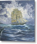 High Seas Adventure Metal Print