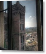High Window Metal Print