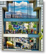 Highland And Hollywood C Metal Print