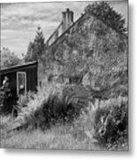 Highland Cottage Kilchoan Ardnamurchan Metal Print