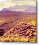 Highland Landscape Metal Print