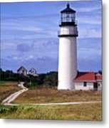 Highland Light Truro Metal Print