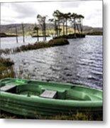 Highland Loch Metal Print