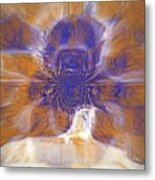 Highliight And Move By The Wind Metal Print