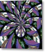 Highrise Kaleidoscope Metal Print