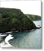 Highway To Hana Metal Print