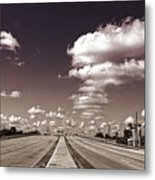 Highway To Paradise Metal Print