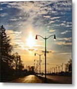 Highway To The Sun Metal Print