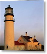 Higland Lighthouse Cape Cod Metal Print