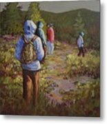 Hiking The Paintbrush Trail, Manning Provincial Park, B. C., Revisited Metal Print