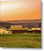 Hill City Scenic View, South Dakota Metal Print