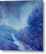 Hill Country Storm, No. 1 Metal Print