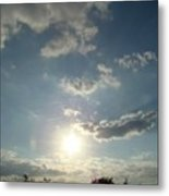 Hill Sky Two Metal Print
