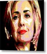Hillary Metal Print