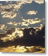 Hillcountry Sunset One Metal Print