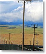 Hills Of Chatter Metal Print