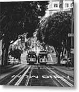 Hills Of San Francisco Metal Print